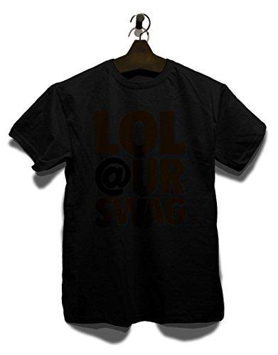 Lol Swag Herren T-Shirt Schwarz