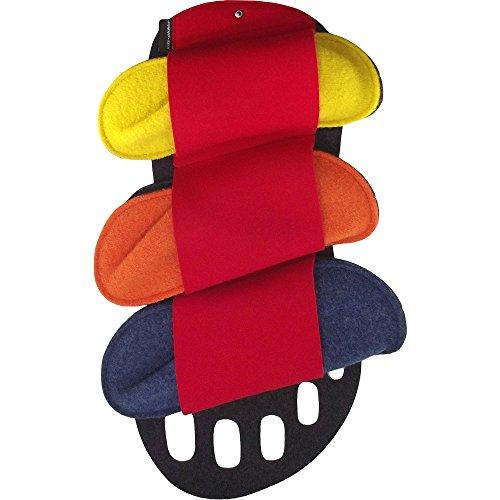 Kitz-Pichler Happy Set, Pantoufle invité unisexe multicolore)