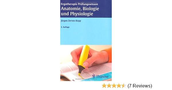 Ergotherapie Prüfungswissen Anatomie, Biologie und Physiologie ...