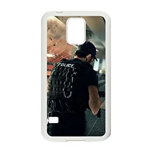 Battlefield Hardline 8 coque Samsung Galaxy S5 cellulaire cas coque de téléphone cas blanche couverture de téléphone portable EOKXLLNCD32133