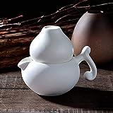 Kaffeebereiter Kaffeekannen Espressokocher Teekannen Gesundheits-Persönlicher Topf-Reine Farbkeramikschalen-Schale Kreative Eigenschafts-Topf-Teekannen-Schale