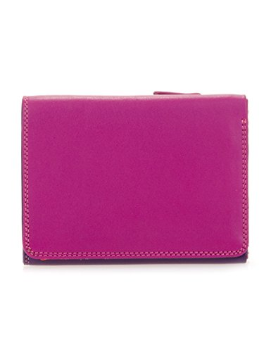 Mywalit - leder damen Geldbörse - medium Tri-fold wallet - 106-75 sangria multi -