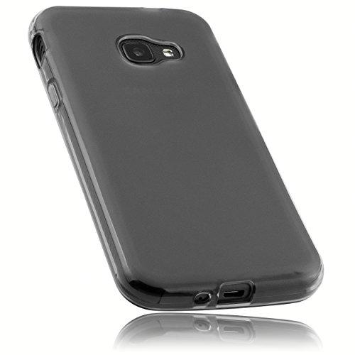 mumbi Schutzhülle für Samsung Galaxy Xcover 4 Hülle transparent schwarz