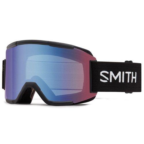 Smith Herren Squad Skibrillen Blauer Sensor Mirror/Schwarz One Size