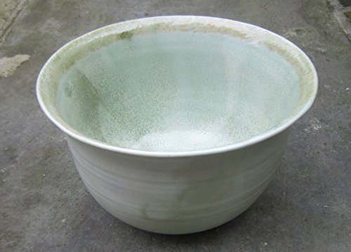 plant-pot-with-shiny-green-and-brown-glazes