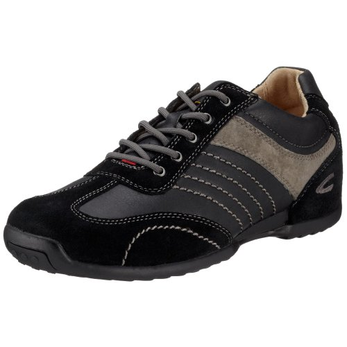 camel active Space 12 137.12.03 Herren Sneaker Schwarz/Black/Grey