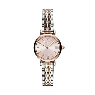 Emporio Armani – Reloj de Dos manecillas de Acero Inoxidable en Dos Tonos para Mujer – AR11223