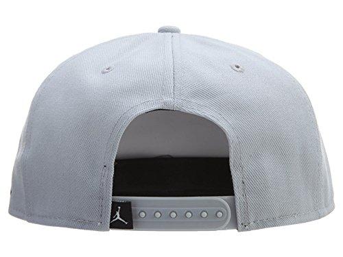 Nike 2Snapback Cap Linie Michael Jordan Unisex Gris / Azul  (Wolf Grey/Midnight Navy)