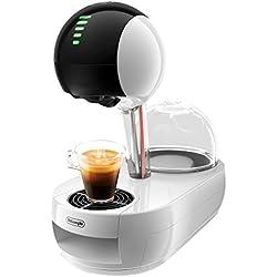 Dolce Gusto De'longhi EDG635.W Cafetera de cápsulas, 15 Bares de presión, 1500 W, 1 Cups, Acero Inoxidable, Blanco