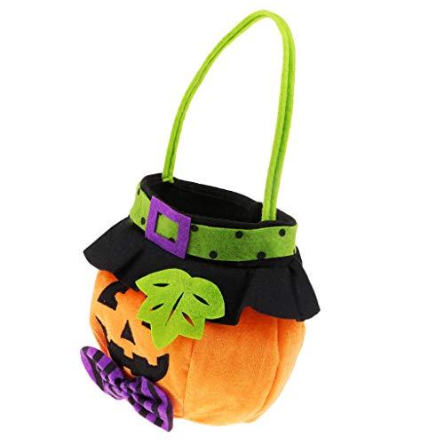 B Baosity Kürbis Candy Bags Süßigkeiten Tasche Beutel - Halloween Goodie Bags