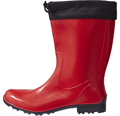 Lemigo Bottes de Pluie Sara 968 Rouge - Rouge