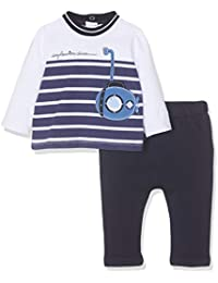 Chicco Baby Boys' Completo T-Shirt + Pantaloni Lunghi Playsuit
