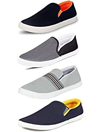 SCATCHITE Combo Pack of Stylish Loafers & Moccasins & Casual Shoes for Men's