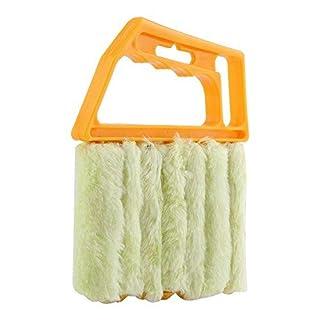 APMAX Blind Duster Reinigungsbürste Microfaser Reiniger Pinsel Abnehmbare Staub Collector Fensterbürste für Fensterläden Vent Klimaanlage Staubabscheider Reinigungstuch Werkzeug