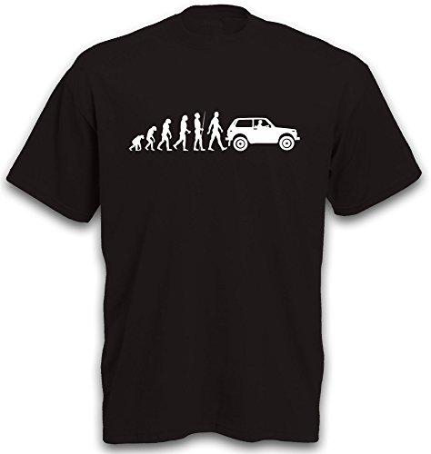 T-Shirt Evolution Niva 2121 Motiv Jeep SUV Geländewagen Gr. XL
