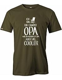 Ich bin ein Camper Opa - Wie ein normaler Opa aber viel cooler - Herren T-SHIRT by Jayess