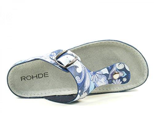 Rohde - Riesa, Sandali Donna sfumature di blu