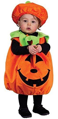 Cute Kleinkinder Jungen Mädchen Pumpkin Harvest Herbst Fall Halloween Kostüm Kleid Outfit - Synthetisch, Orange, 100% polyester, Jungen, up to 24 (Halloween Baby Cute Jungen Kostüme)