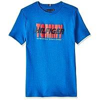 Tommy Hilfiger Boy's Alpine Short Sleeve T-Shirt, Blue, 16 Years