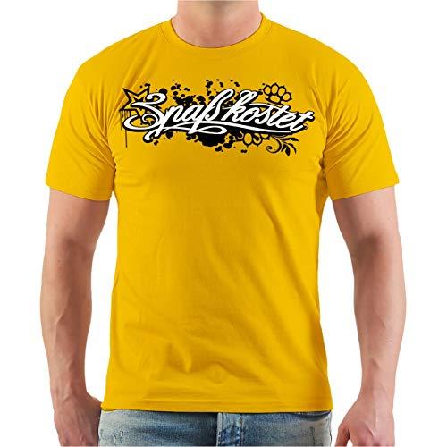 Spaß kostet Männer und Herren T-Shirt Schwarze Serie (mit Rückendruck) Größe S - 8XL