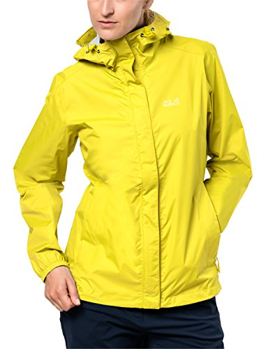 Jack Wolfskin Damen Cloudburst Women Atmungsaktiv Wasserdicht Winddicht Outdoor Funktionsj