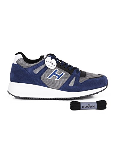 Hogan, Herren Trekking- & Wanderstiefel  blau blau 41.5 Blau