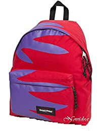 42f07621e1 EASTPAK ZAINO SCUOLA PADDED PAK'R 74M DON'T LET GO RED ROSSO VIOLA