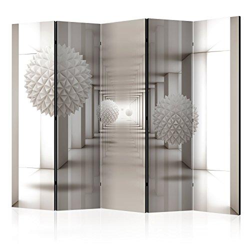 murando Paravent & Tableau daffichage en Liege: 225x172 cm Reversible Impression sur Papier intissé 100% Opaque Paravent decoratif pour Chambre Paravent en Bois avec Impression a-A-0149-z-c