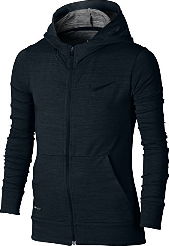 Nike DF Fleece Hoodie Yth Training-Sweat-shirt-Garçon