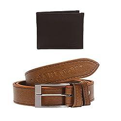 Mens Belts & wallet combo