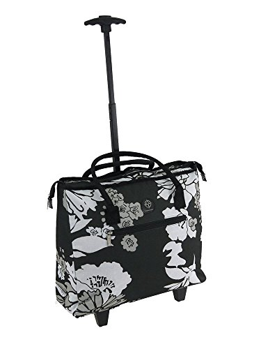 lightweight-shopping-tote-bag-on-wheels-shopping-trolley-travel-bag-overnight-case-bloom-black