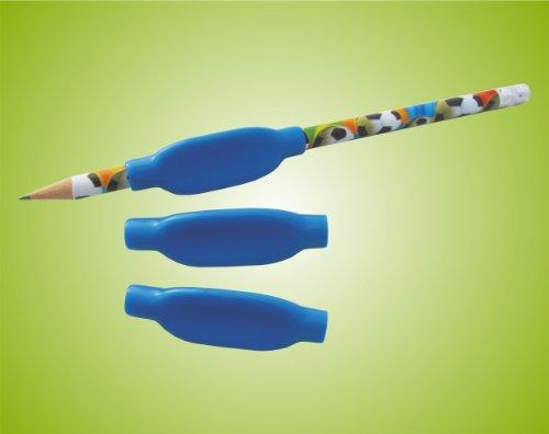 Schreibgriffe Schreibgriff Stifthalter Schreibhilfe , weich , dreieckig 3 Stück Top-Qualität