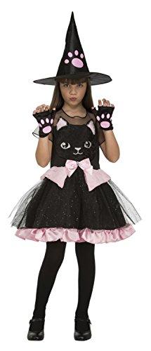 My Other Me Me-204020 Disfraz bruja gatito niña