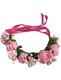 Loops n knots Floral Armlet/Wrist Band/Rakhi for Girls