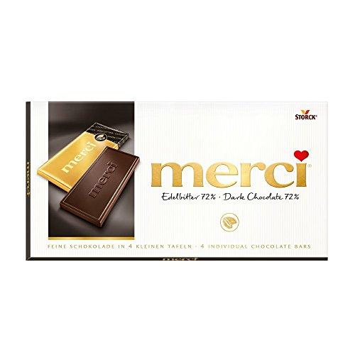 Merci - Edelbitter 72% Tafelschokolade - 100g