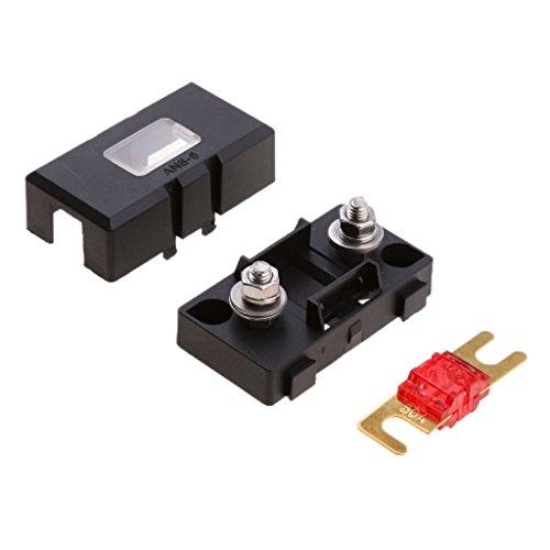 Preisvergleich Produktbild MagiDeal Ersatz 32V 50A Sicherungsschalter,  Elektriksystem Zubehör für Autos und KFZ - Schwarz