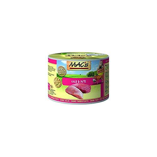 MAC's Katzenfutter getreidefrei Kalb & Pute, 800 g