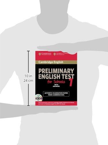 Preliminary english test for school. Student's book. Pergli Ist. tecnici e professionali. Con CD Audio: Cambridge Preliminary English Test for Schools ... with Audio CDs (2)) (PET Practice Tests)