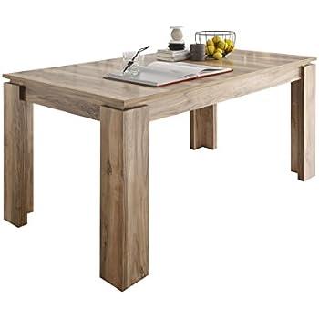 P&N Homewares® Eden Table à Manger Extensible en chêne et ...