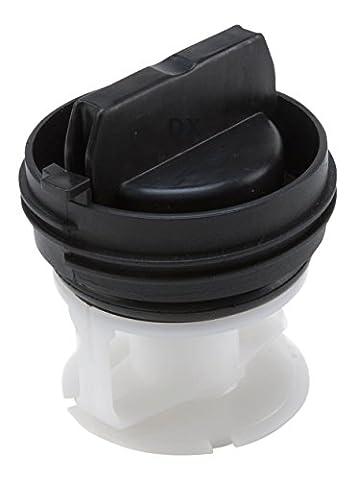 DREHFLEX® - Flusensiebeinsatz / Fremdkörperfalle passend für diverse Waschmaschinen von Bosch / Siemens / Constructa - passend für Teile-Nr. 00614351 / 614351
