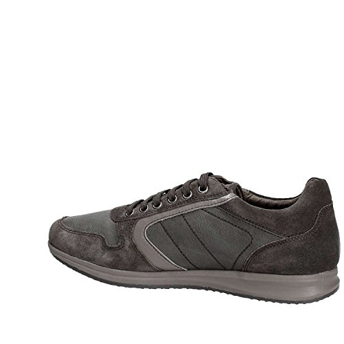Geox Herren U Avery C Sneaker Dunkelgrau
