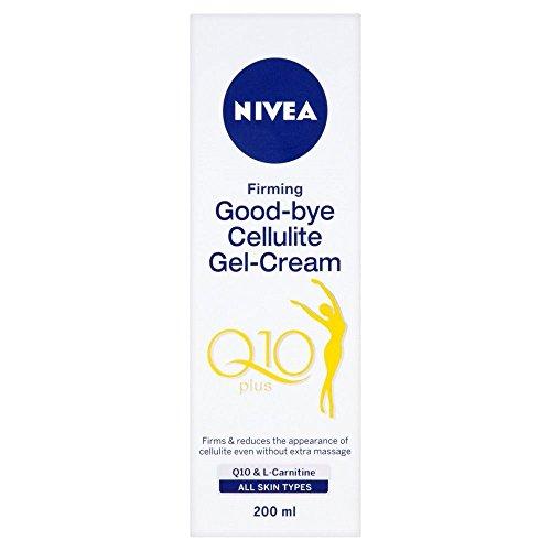 Nivea Body Wiedersehen Cellulite Gel-Creme (200 ml) - Packung mit 2