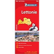 Carte NATIONAL Lettonie de Collectif Michelin ( 4 avril 2012 )