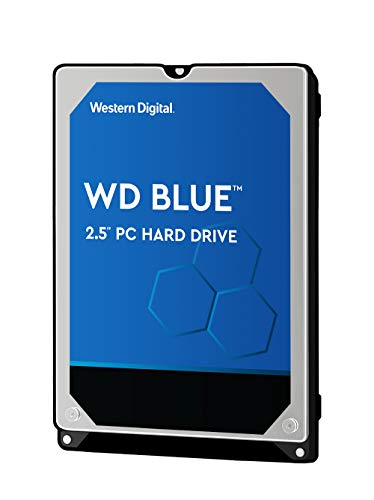 WD Blue Mobile 2TB HDD 7mm 5400Rpm SATA 6Gb/s Serial ATA 128MB Cache 6,4cm 2,5Zoll RoHS Compliant internal Bulk (Laptop-festplatten Mit 2 Tb)
