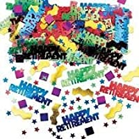 Happy Retirement Table Confetti by Every-occasion-party-supplies