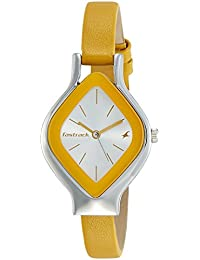 50338369c8d Fastrack Analog Silver Dial Women s Watch-NK6109SL01