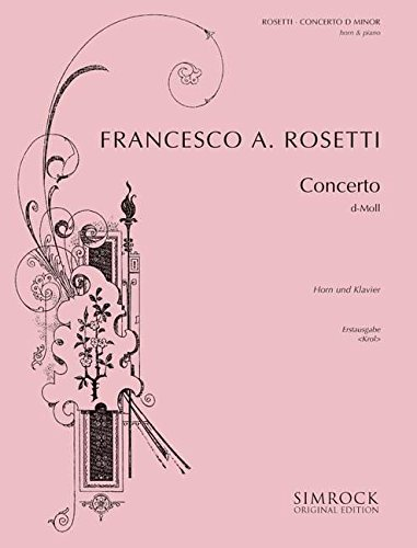 simrock-rosetti-roesler-antonio-horn-concerto-in-d-minor-murray-c38-horn-and-orchestra-partition-cla