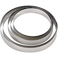 de Buyer 3989.14 Cercle Inox Hauteur 4,5 cm Diamètre 14 cm