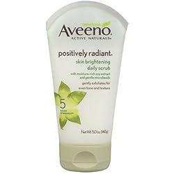 Aveeno Scrub skin brightening 5oz