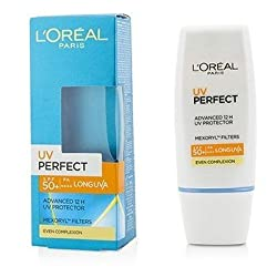 LOreal Dermo-Expertise UV Perfect 12H LongLasting UVA/UVB Protector SPF50+/PA+++ - Even Complexion 30ml/1oz